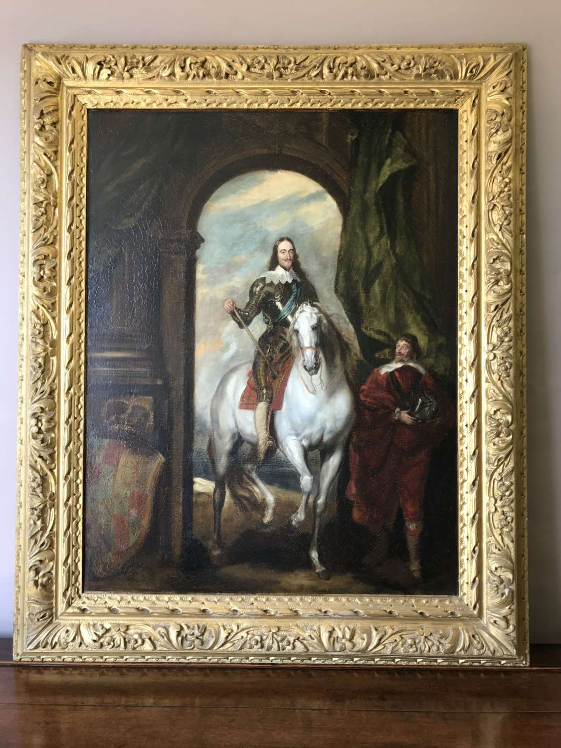 A good quality Royal portrait of Charles I