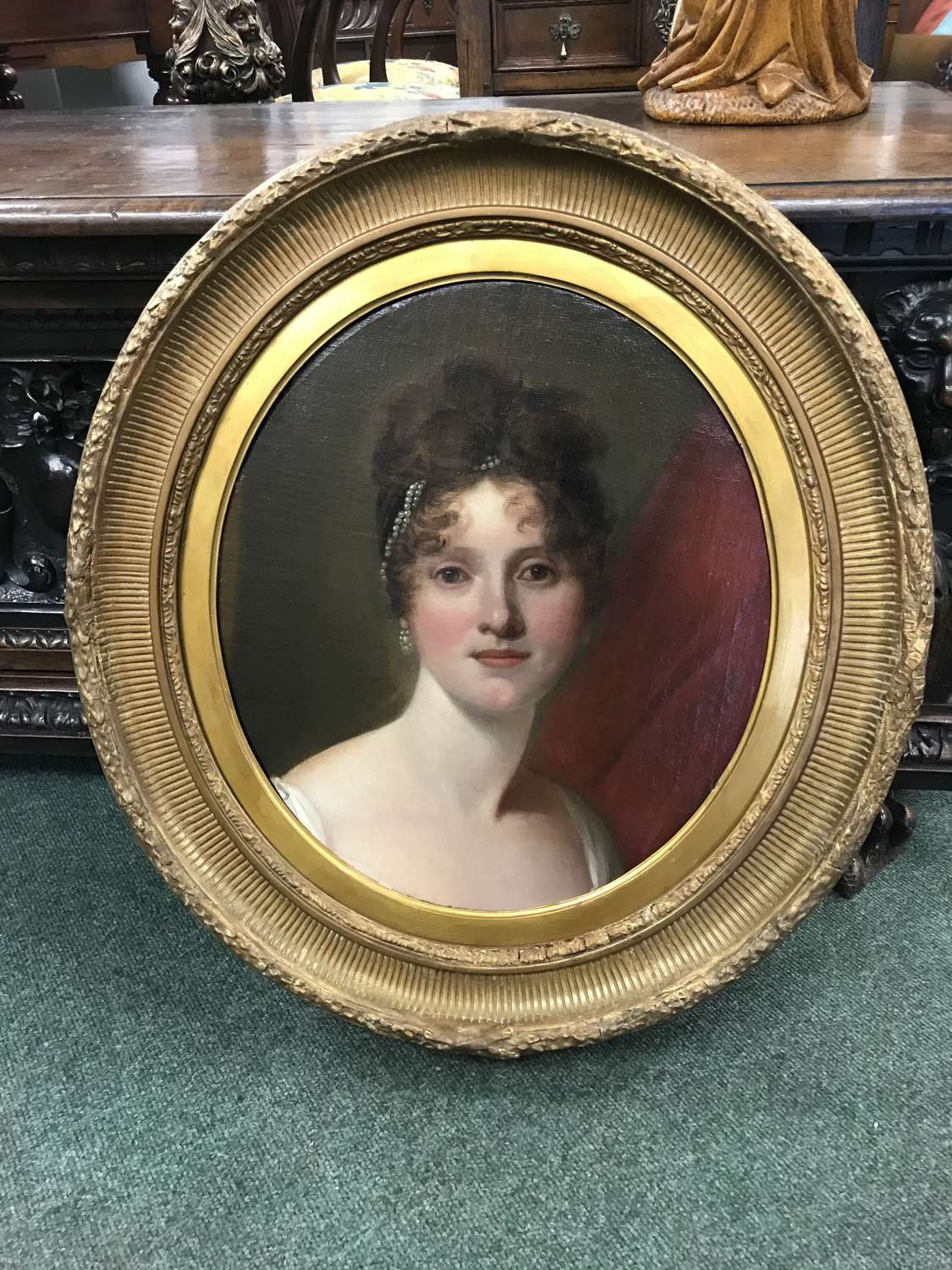 Early 19th Century portrait of a young woman